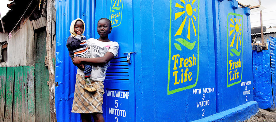 Sanergy, a social venture that makes hygienic sanitation affordable and accessible throughout Africa's informal settlements.