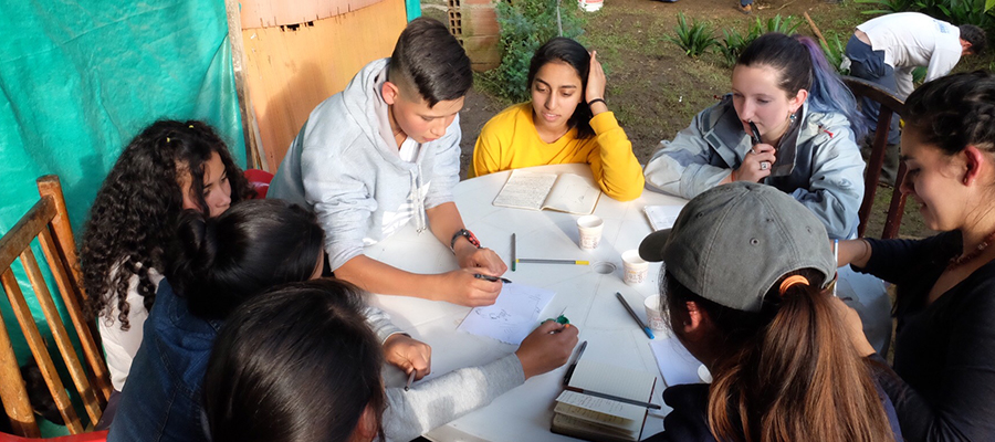 D-Lab: Development students working with community members in Colombia, January 2018.