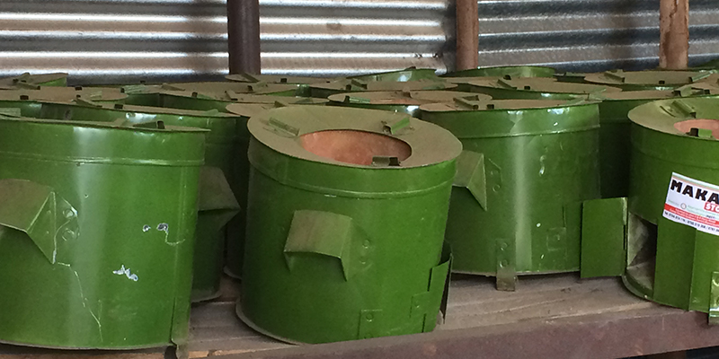 Mkaa cookstoves from ARTI Energy in Tanzania.