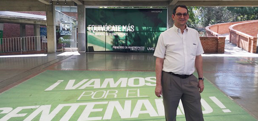 Bob Nanes visits the University of the Valley of Guatemala.