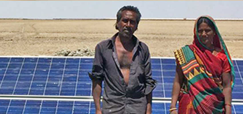 Solar water pump evaluation, India.