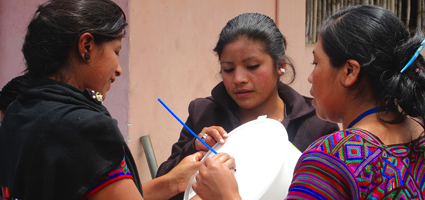 Creative Capacity Building in Guatemala.