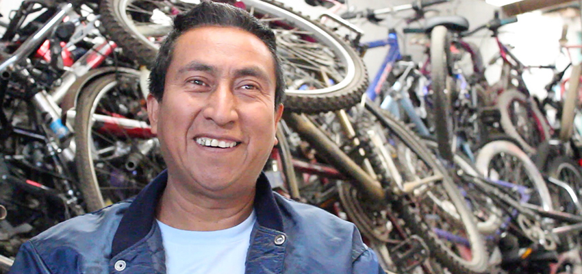 Carlos Marroquin of Bici-Tec.