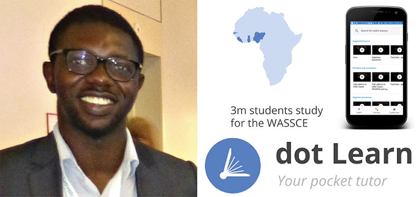 Tunde Alowode 2017 D-Lab Scale-Ups Fellow, co-founder of dot Learn.