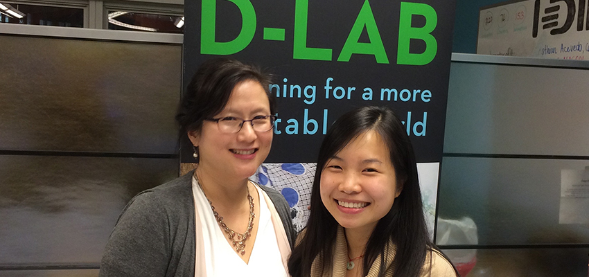 Maria Yang (left), MIT D-Lab Faculty Director for Academics.