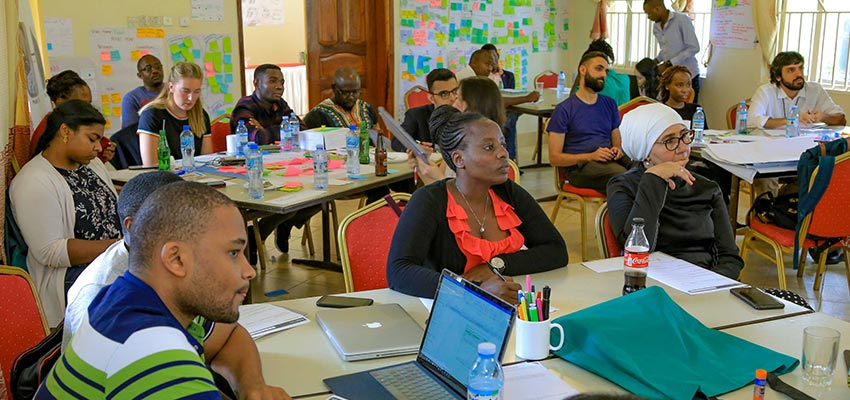 MIT D-Lab Tackling Challenges to Scale Co-Design Summit. Mukono, Uganda, 2019