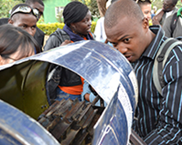 Bean sheller and thresher developed at the 2014 International Development Design Summit