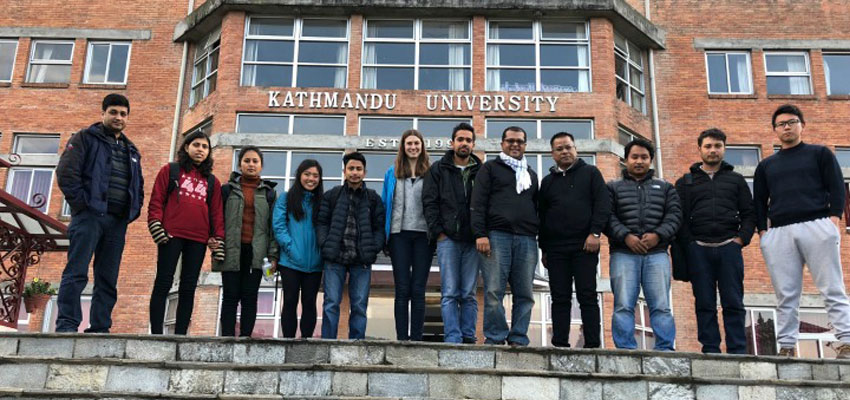 The MIT D-Lab and Kathmandu University teams.