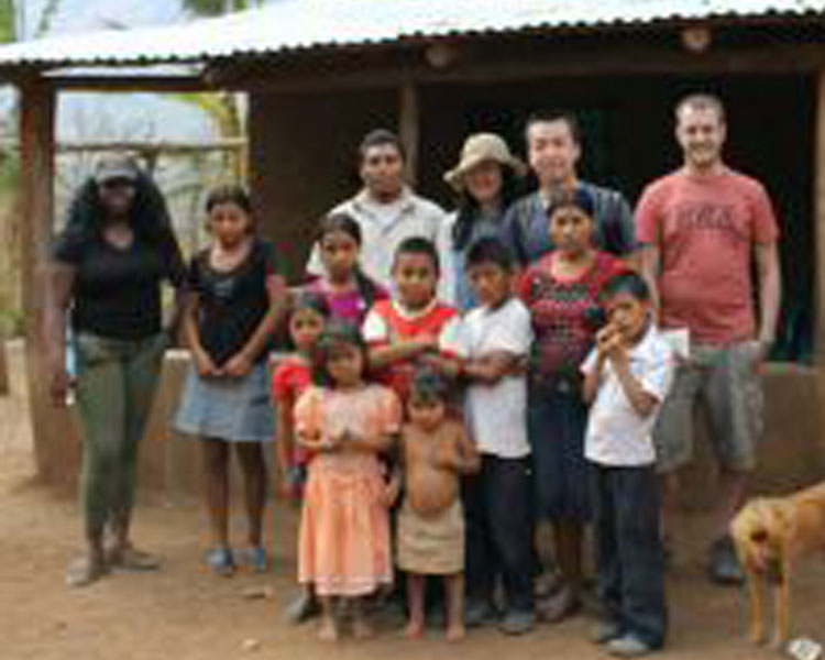D-Lab staff and students with community partners in El Salvador.