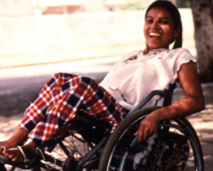 In the 1980's, Thelma Ramos of Nicaragua worked with MacArthur fellow Ralf Hotchkiss to develop this high-performance wheelchair which could be built with local materials.