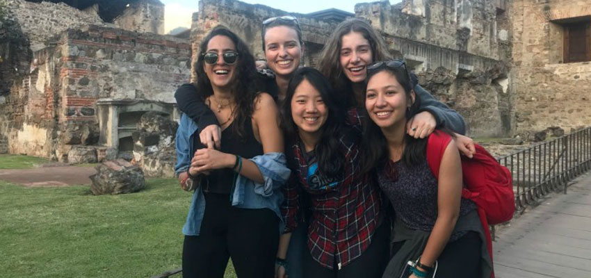 Team Guatemala on a weekend trip to Antigua, Guatemala. Missing: Team Leader Charlotte Fagan