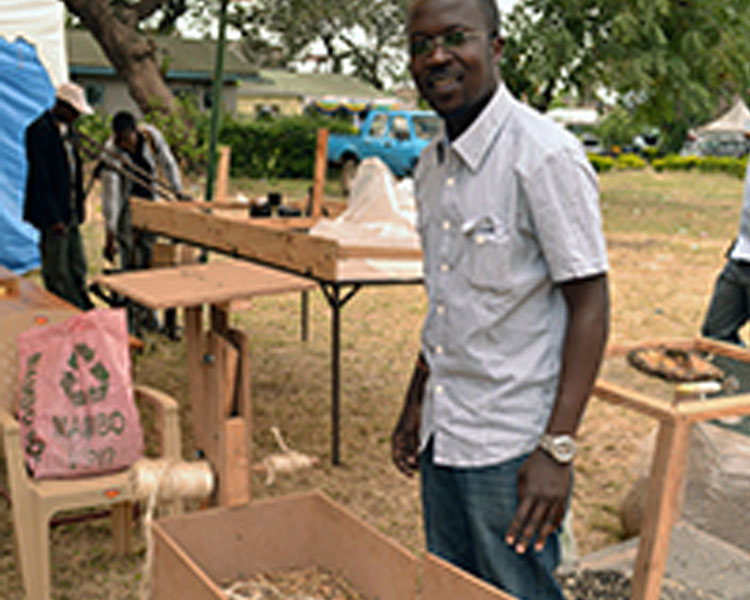 Small-scale hay bailer developed at the 2014 International Development Design Summit