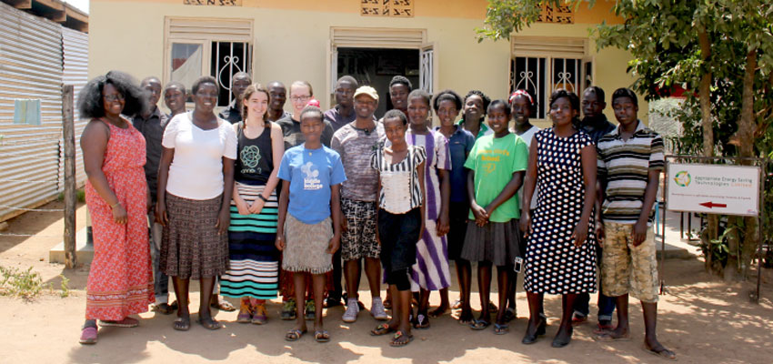 Worksop instructors, facilitators, and volunteers from D-Lab, TEWDI, and the Soroti region. (Photo: Lauren Bustamante)