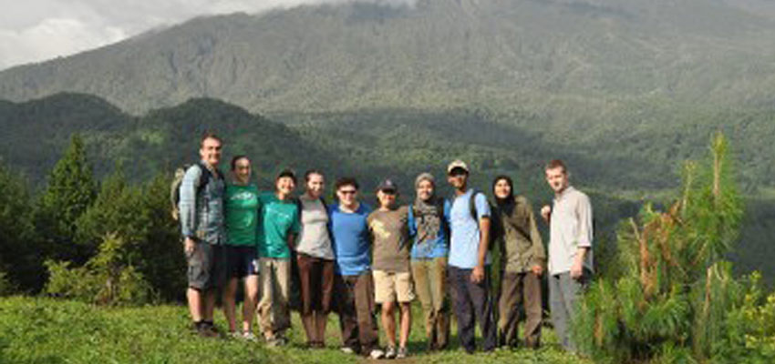 The D-Lab Tanzania Team on the foothills of Mt. Meru.