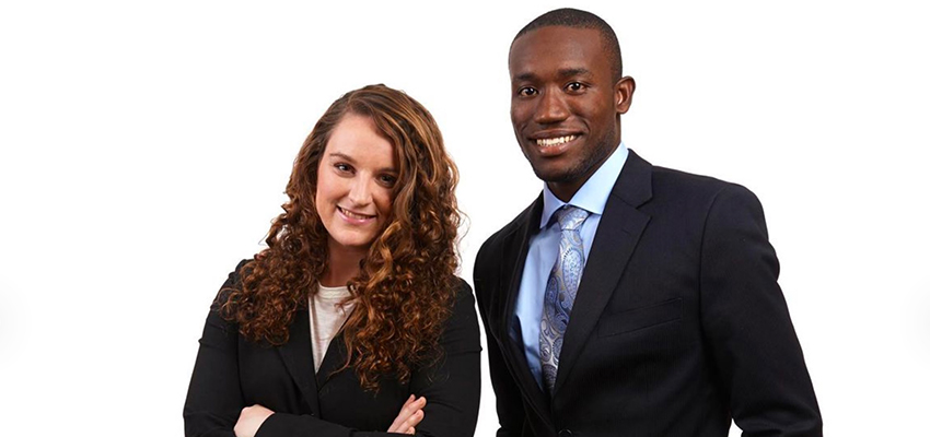 Emily Cunningham and Kwami Williams, Co-Founders MoringiaConnect.