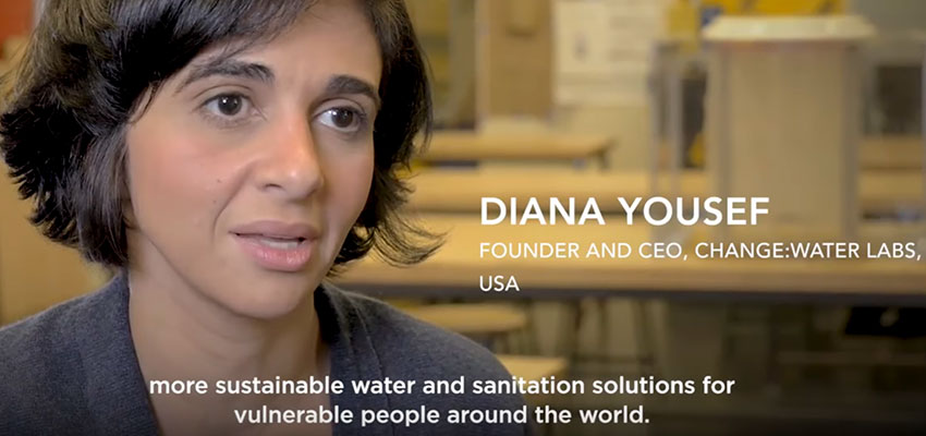 Diana Yousef of change:WATER Labs