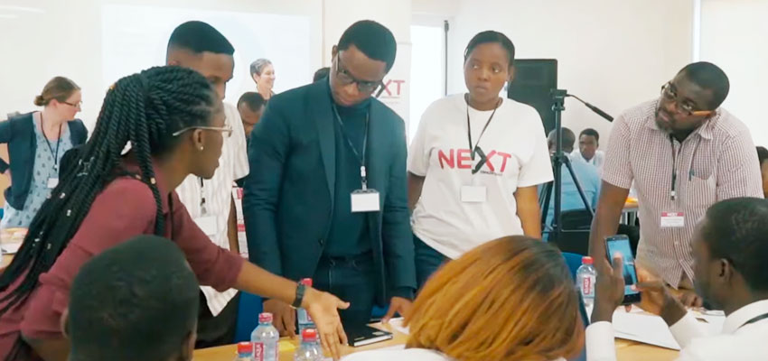 Attendees of the June 2019 NEXTi2i Ecosystem Convening in Accra, Ghana.
