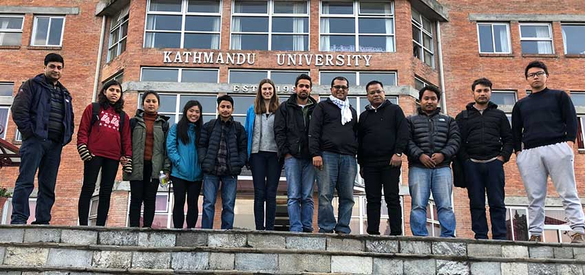MIT D-Lab and Kathmandu University team, January 2018.