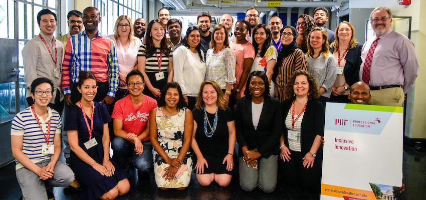 Inclusive Innovation: Designing for a Better World participants July 2019