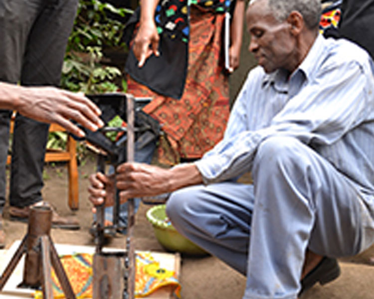 Avocado oil press developed at the 2014 International Development Design Summit