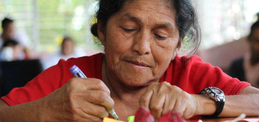 Rosy (Rosybel, president of Las Diosas - central of cooperatives)