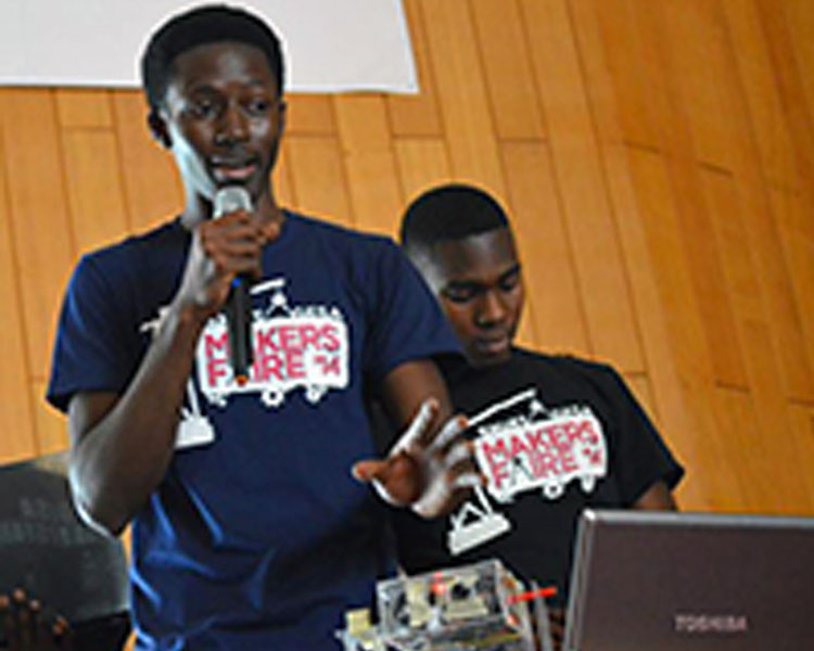 The Maker Faire is in its second year, organized as an effort to support the bright ideas of Ghana's young people.