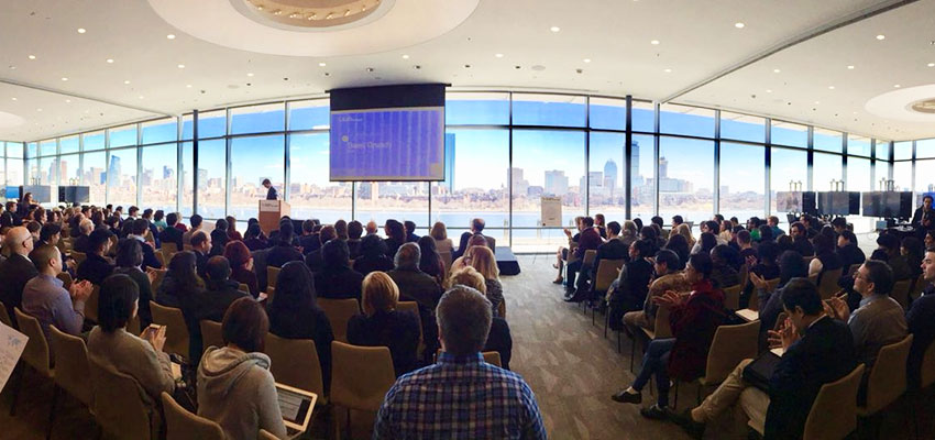 The MIT IDEAS Global Challenge (co-founded by Amy Smith) in action, with the picturesque Charles river as backdrop (one of the many components of our immersion in the Boston innovation ecosystem).