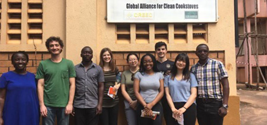 D-Lab Team with research scientists at CREEC. Kampala, Uganda 2019